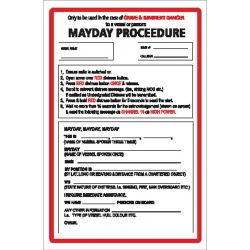Mayday Procedure  Sticker