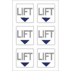 Lift Point Sticker