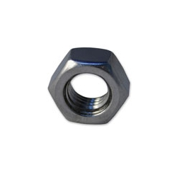 M4 Metric Plain Nut - A4 Stainless Steel