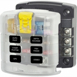 Blue Sea Screw Terminal Fuse Block