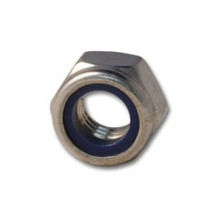 M6 Metric Nyloc Nut - A4 Stainless Steel