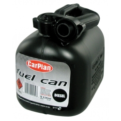 Diesel Fuel Can - Black (5Ltr) By Car Plan