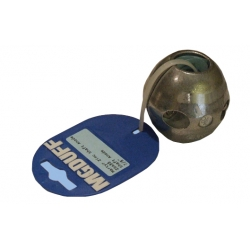 Zinc Ball Shaft Anode To Suit Dia 1 ""