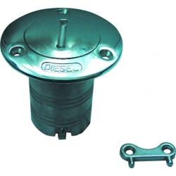"Diesel Deck Filler - SS 2"" inc Key"