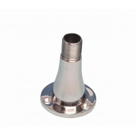 """Stainless Steel Mast Bracket 1"""" x 14 Thread"""
