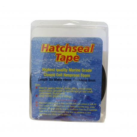 Black Hatchseal Tape - 3m x 19mm x 6mm