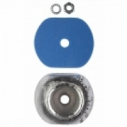 Zinc Hull Anode Disc 1 Kgs Nom Net