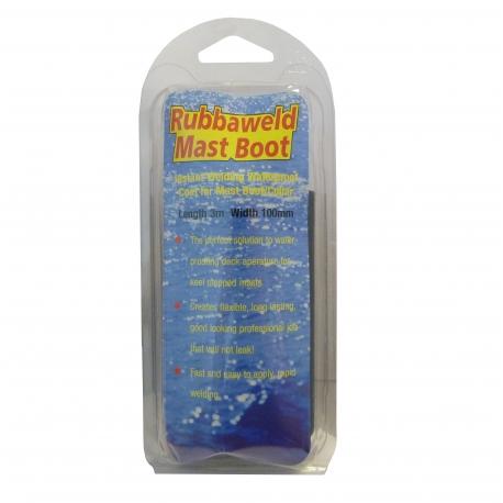 Rubbaweld Mastboot - Black 3m x 100mm