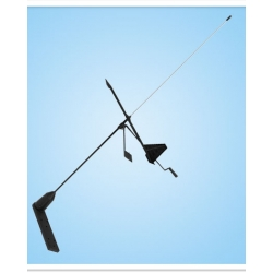 V Tronix SS Whip Antenna with Hawk Wind Indicator