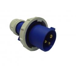 Industrial Plug 16A 220-250VAC