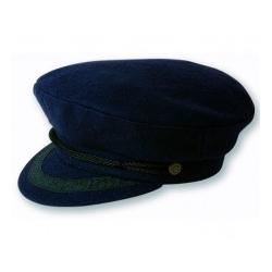 Breton Cap - Navy Blue