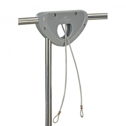 Outboard Bracket with wire cable lock