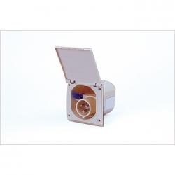 Flush inlet square IP44