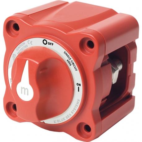 Blue Sea Mini Battery Switchi ON/OFF w/ Knob