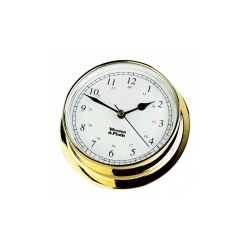 Weems & Plath Endurance 125 Clock - Brass