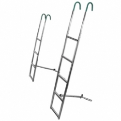 Skandic Style S/S 316 Ladder 3 step
