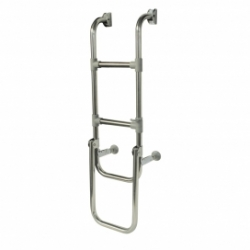 Folding S/S Boarding Ladder 1000mm