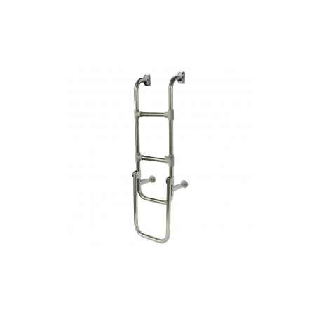 Folding S/S Boarding Ladder 1000mm