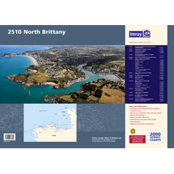 North Brittany Chart Pack by Imray