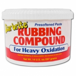 Starbrite Paste Rubbing Compound Heavy Oxidisation