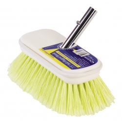 "7.5"" Soft Flagged Yellow Brush by Swobbit"