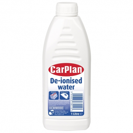 De-Ionised Water (1Ltr)