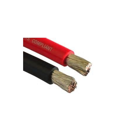 Tinned Flexi Starter Cable - 4 AWG