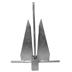 Danforth style Anchor - Galvanised 4Kg