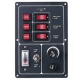 3 Way Fuse - Switch Panel - Battery Test Meter